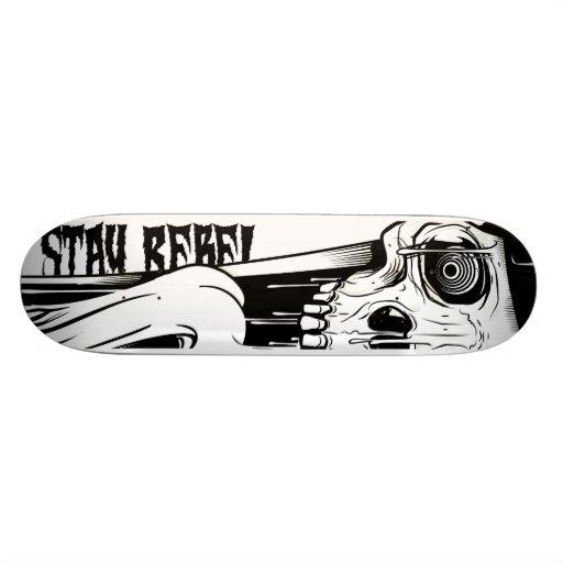stay rebel wood board patinetas personalizadas