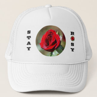 Stay Rosy Red Rose Hat