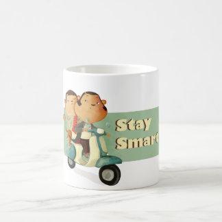 Stay Smart Scooter Monkeys Coffee Mug