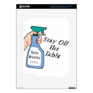 Stay Spray Skin For iPad 3