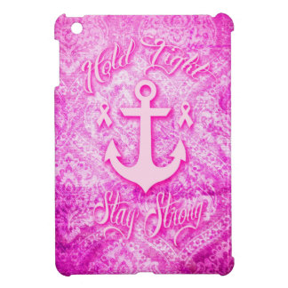 Stay Strong Breast Cancer awareness art. Cover For The iPad Mini