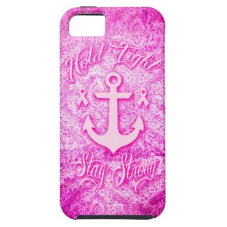 Stay Strong Breast Cancer awareness art. iPhone SE/5/5s Case