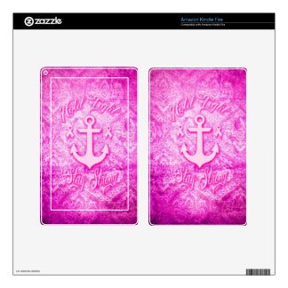 Stay Strong Breast Cancer awareness art. Kindle Fire Skin