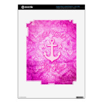 Stay Strong Breast Cancer awareness art. Skin For iPad 3