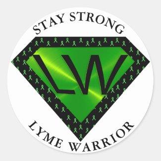 Stay Strong Lyme Warrior Superpower Sticker