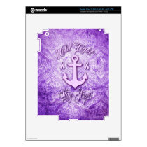 Stay strong nautical pancreatic cancer products. iPad 3 skin
