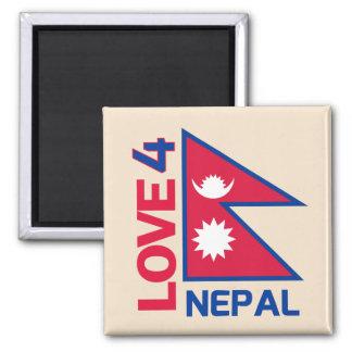 Stay Strong Nepal Fridge Magnet