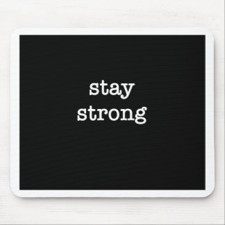 Stay Strong Products Mouse Pad