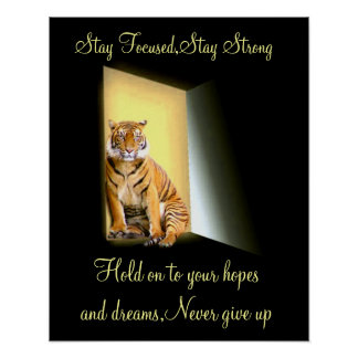 Stay strong,Stay Focused_ Poster