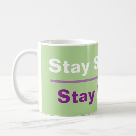Stay Strong Vegan Coffee Mug