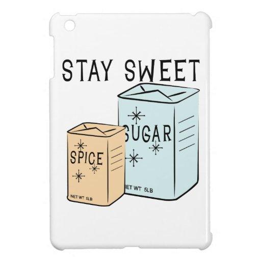 Stay Sweet iPad Mini Cover