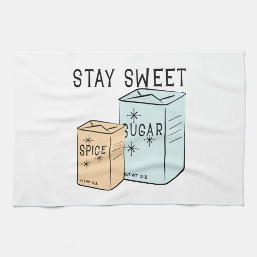 Stay Sweet Hand Towels