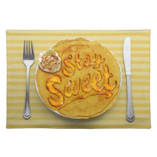 Stay Sweet Placemat: Banana Place Mat