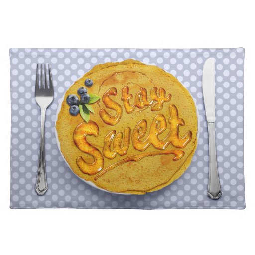 Stay Sweet Placemat: Blueberry Place Mats