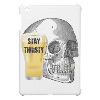 STAY THIRSTY - VAMPIRE SKULL PRINT iPad MINI COVER