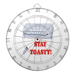 Stay Toasty Dartboard With Darts