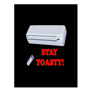 Stay Toasty Postcard