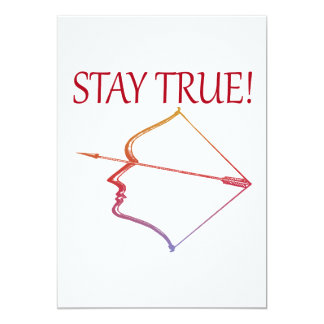 Stay True 2 Card