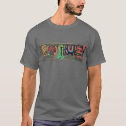 Stay True Inspirational Design by Ryan JT Brown T-Shirt