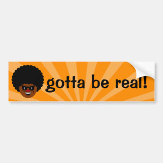 Stay true to yourself and what you believe in car bumper sticker