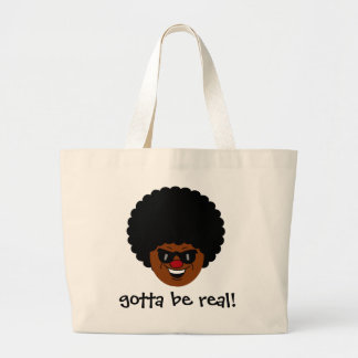 Stay true to yourself and what you believe in large tote bag