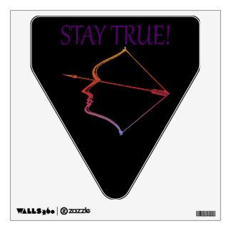 Stay True Wall Sticker