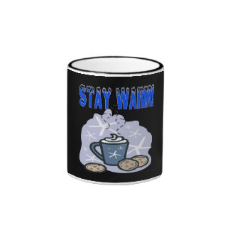 Stay Warm 4 Ringer Coffee Mug