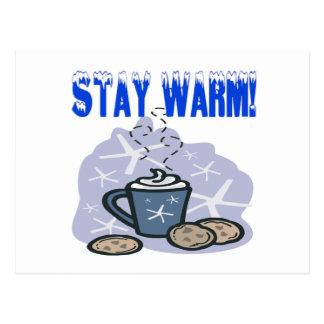 Stay Warm 4 Postcard