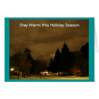 Stay Warm Card