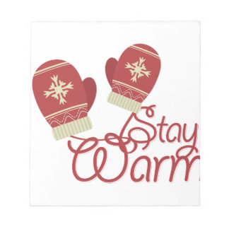 Stay Warm Notepad