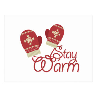 Stay Warm Postcard