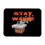 Stay Warm Rectangular Magnet