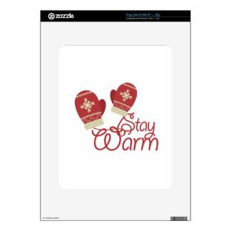 Stay Warm Skin For iPad