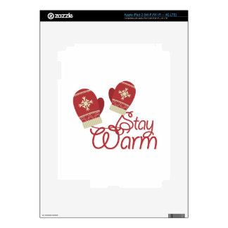 Stay Warm Skin For iPad 3