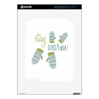 Stay Warm Skin For iPad 3