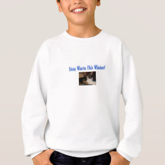 Stay Warm This Winter!-Chihuahua/Cat Design Kids Sweatshirt