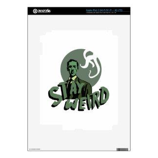 Stay Weird iPad 3 Skins