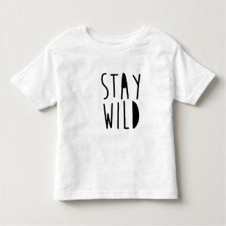 Stay Wild Childrens T-shirt