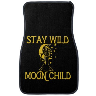 Stay Wild moon Child Car Floor Mat