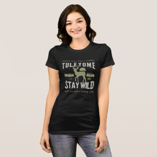 Stay Wild, Women's Bella Jersey T, Black T-Shirt