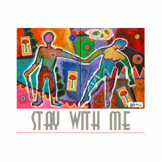 STAY WITH ME - Photo Sculpture