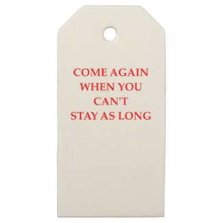 STAY WOODEN GIFT TAGS