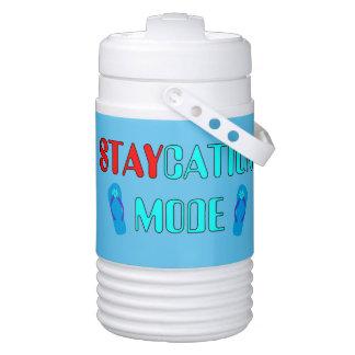 Staycation Mode Cooler for Summer Party Igloo Beverage Cooler