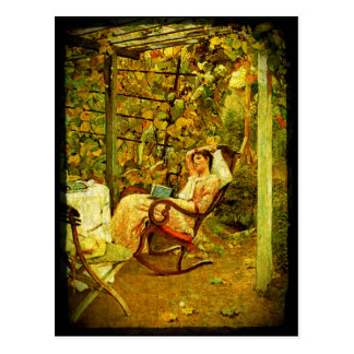 Staycation Postcard Oscar Bluhm In The Pergola