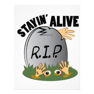 Stayin Alive Letterhead