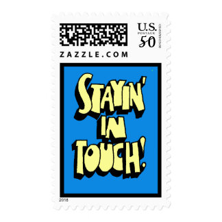 Stayin' In Touch Stamp in Blue