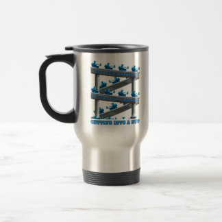 Staying In The Groove? 15 Oz Stainless Steel Travel Mug