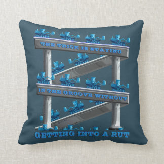 Staying In The Groove? Throw Pillows