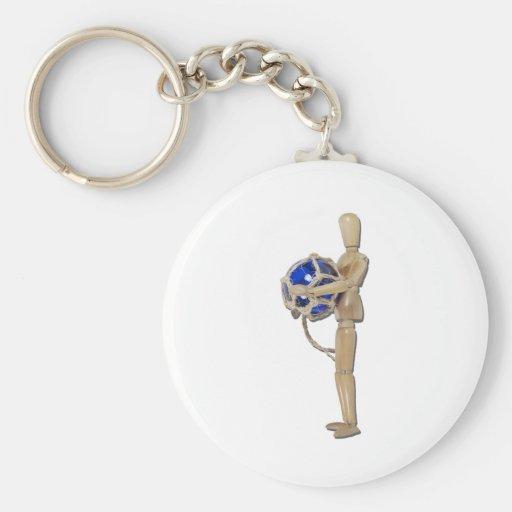 StayingAfloat020511 Key Chain