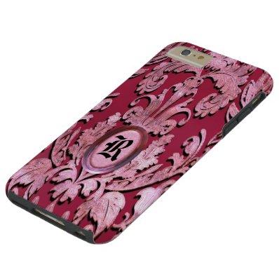 Stayportvollie Damask  Monogram Tough iPhone 6 Plus Case